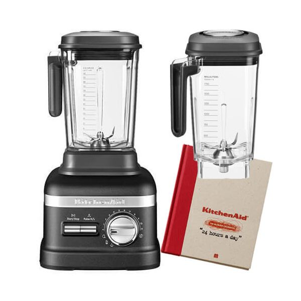 KitchenAid Artisan Power Plus Blender Cast Iron Black with FREE Gifts
