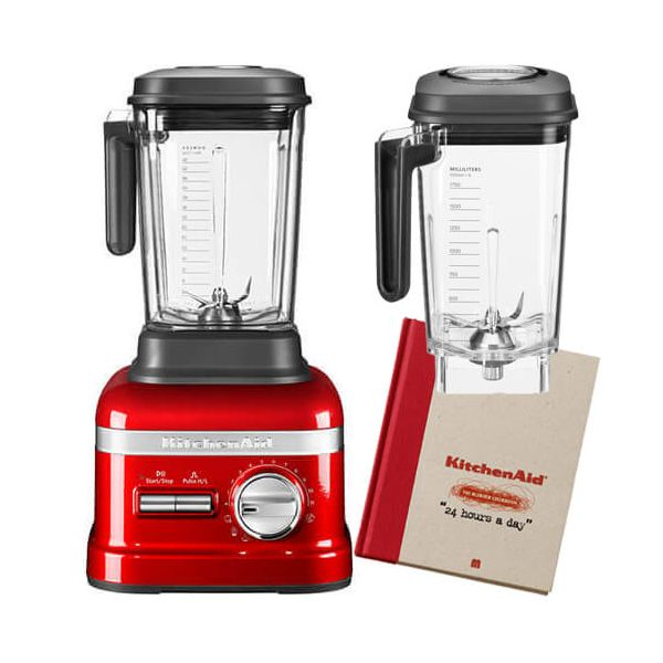 KitchenAid Artisan Power Plus Blender Candy Apple with FREE Gifts