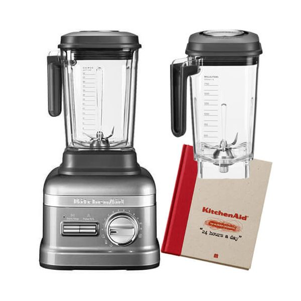 KitchenAid Artisan Power Plus Blender Medallion Silver with FREE Gifts