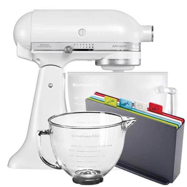 KitchenAid Artisan Mixer 156 Frosted Pearl With FREE Gifts