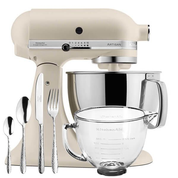 KitchenAid Artisan Mixer 175 Fresh Linen With FREE Gifts