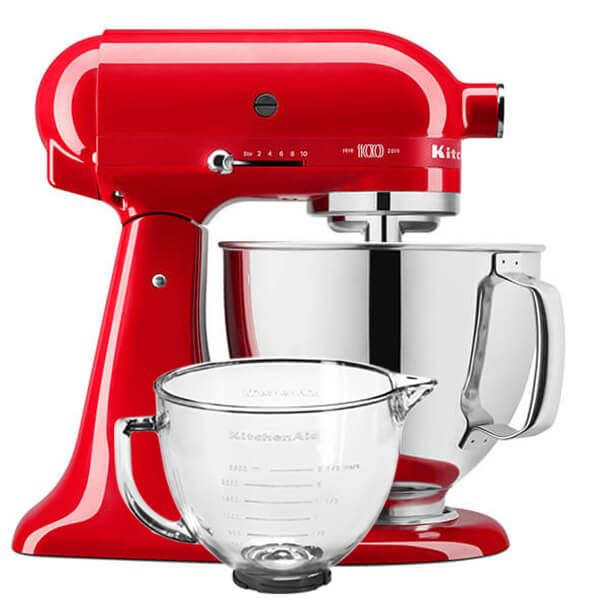 KitchenAid Limited Edition Queen Of Hearts 4.8L Artisan Stand Mixer With FREE Gift