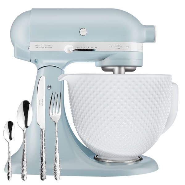 KitchenAid Artisan Mixer 180 Anniversary Misty Blue With FREE Gift