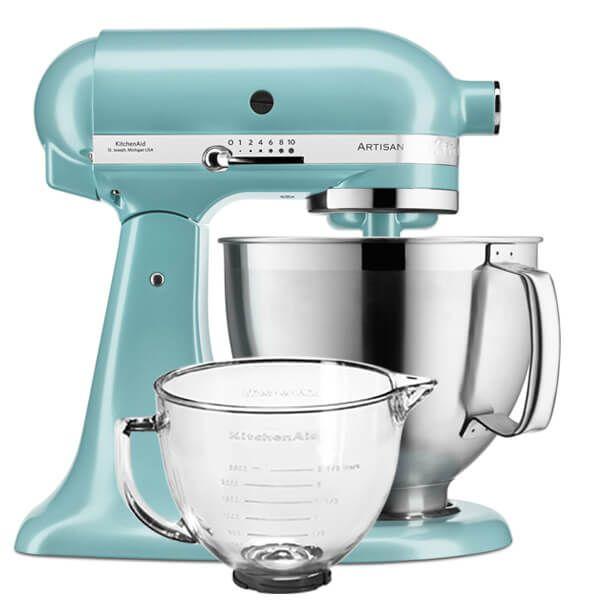 KitchenAid Artisan Mixer 185 Azure Blue With FREE Gift