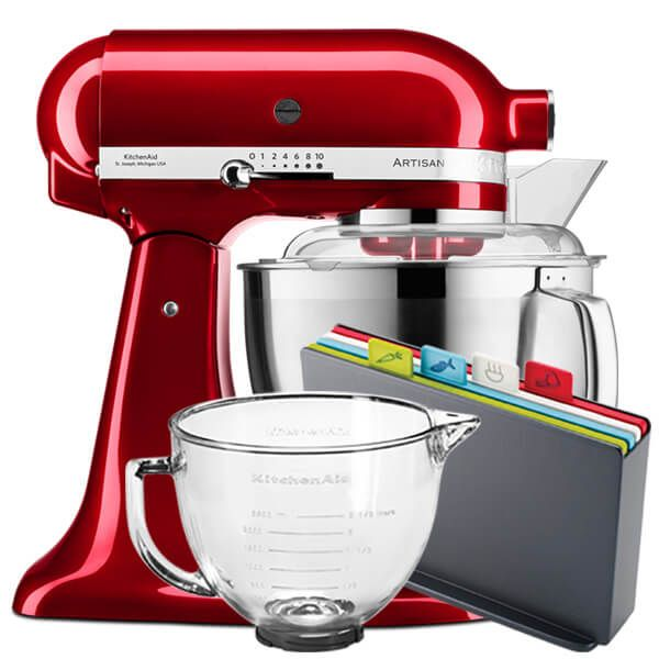 KitchenAid Artisan Mixer 185 Candy Apple With FREE Gifts