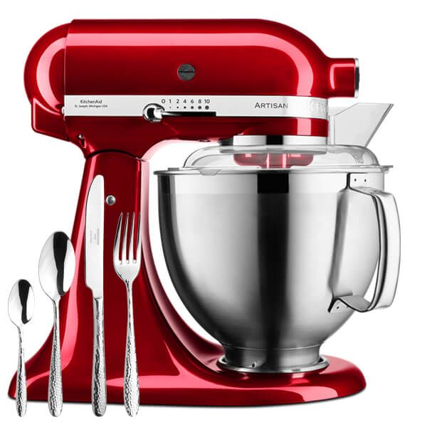 KitchenAid Artisan Mixer 185 Candy Apple With FREE Gift