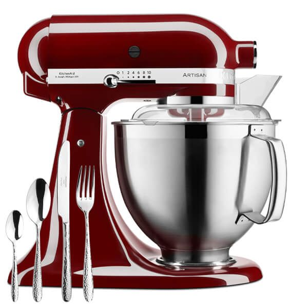 KitchenAid Artisan Mixer 185 Crimson Red with FREE Gift