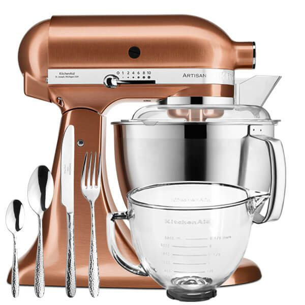 KitchenAid Artisan Mixer 185 Copper With FREE Gifts