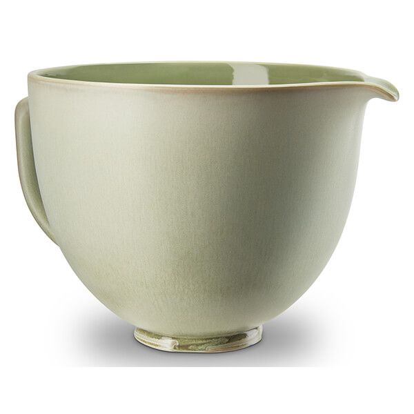 KitchenAid Ceramic 4.8L Mixer Bowl Ceramic Bowl Sage Leaf