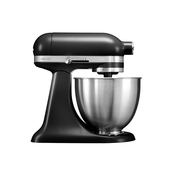 KitchenAid Matte Black Mini Mixer