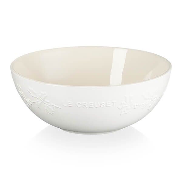 Le Creuset Holly Cotton Stoneware Serving Bowl