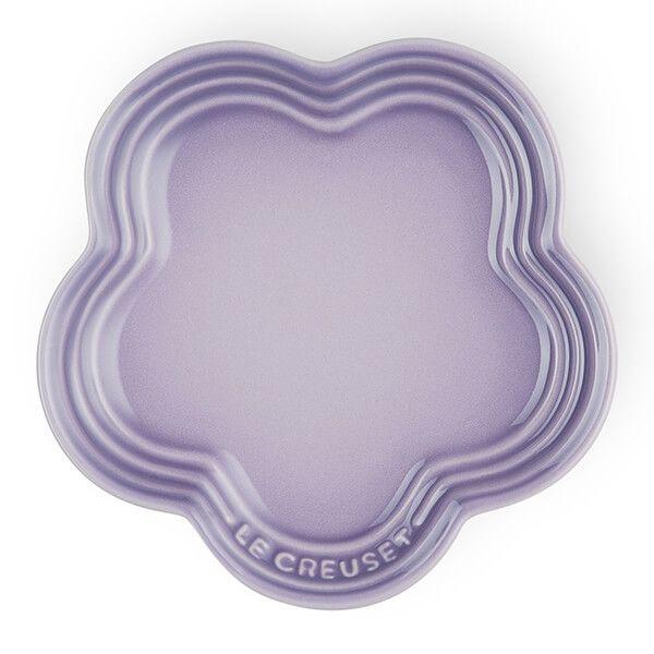 Le Creuset Bluebell Purple Stoneware Flower Plate