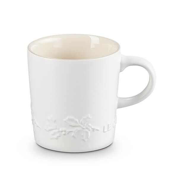Le Creuset Holly Cotton Stoneware Mug, 200ml