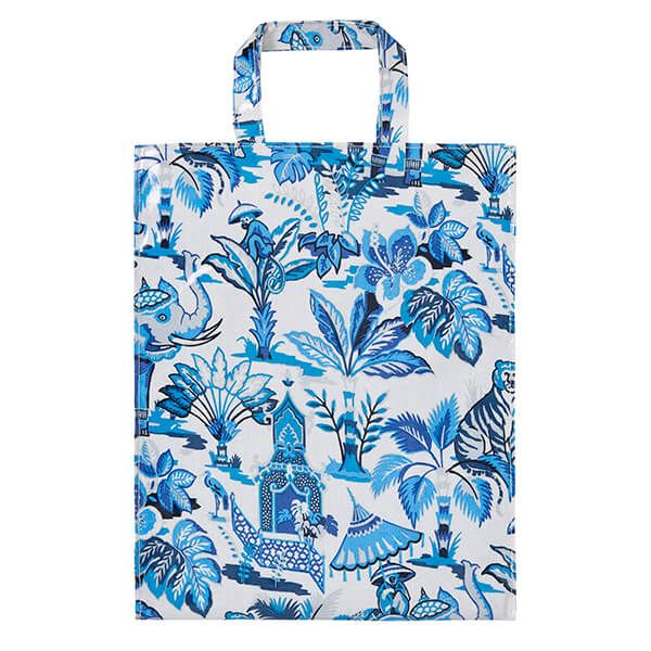 Ulster Weavers India Blue Medium PVC Bag