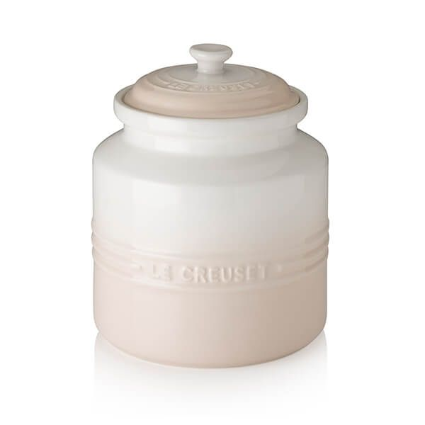 Le Creuset Meringue Stoneware Biscuit Jar