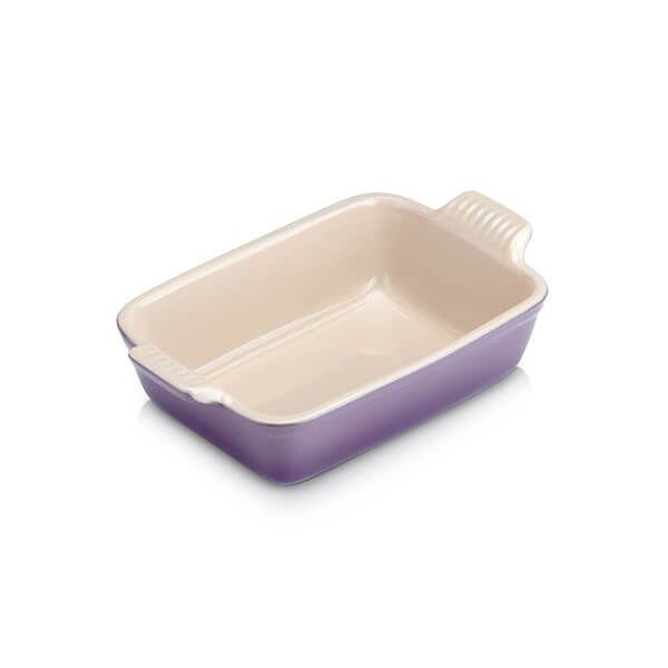 Le Creuset Ultra Violet Small Heritage Rectangular Dish
