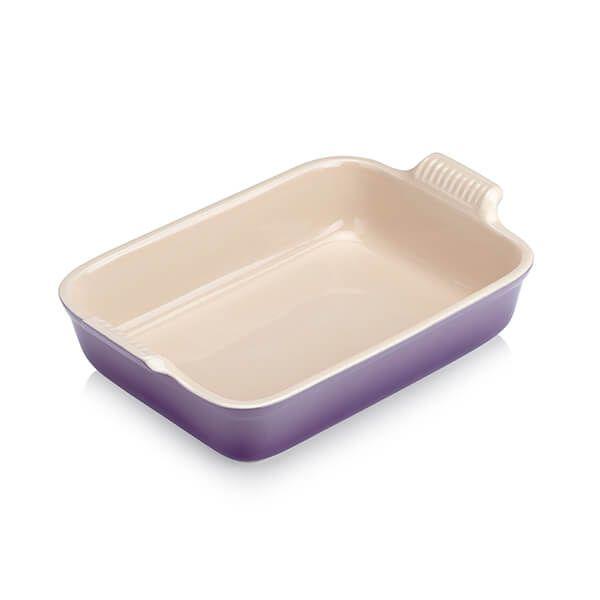 Le Creuset Ultra Violet Large Heritage Rectangular Dish