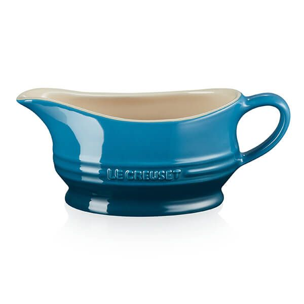 Le Creuset Deep Teal Gravy Boat