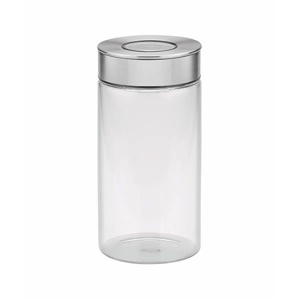 Tramontina Purezza 10cm / 1.4L Glass Canister with Airtight Seal
