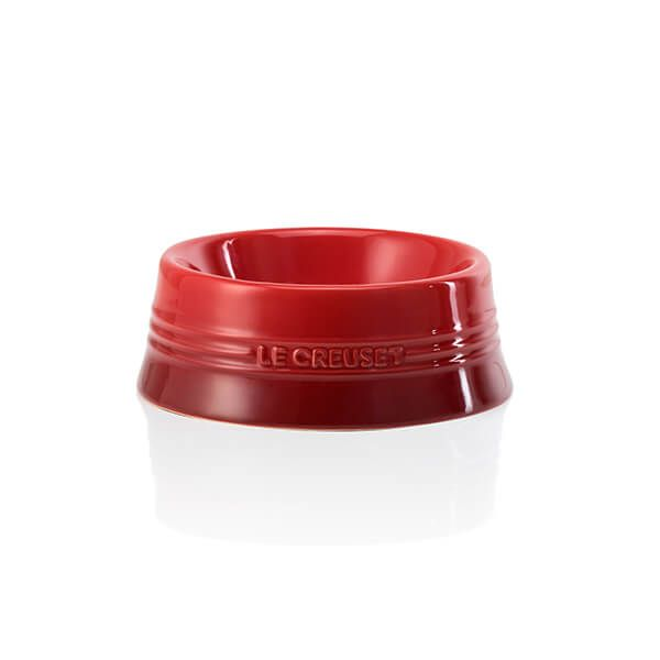 Le Creuset Cerise Stoneware Medium Pet Bowl