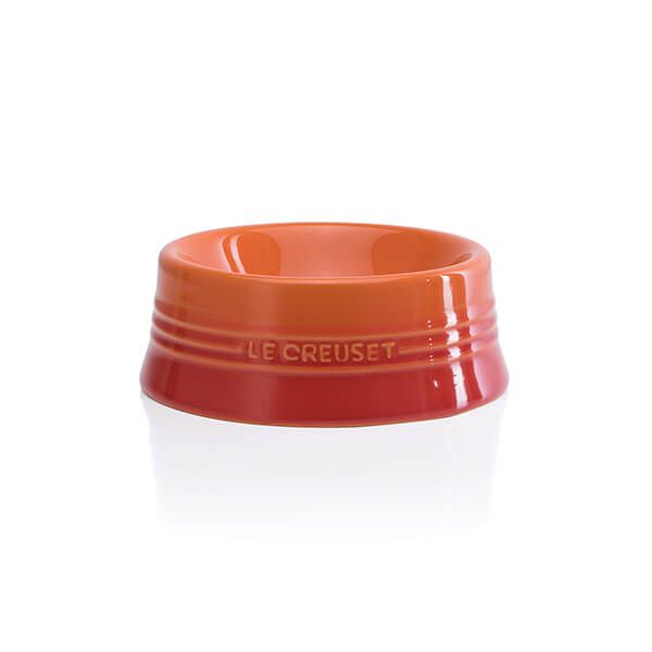 Le Creuset Volcanic Stoneware Medium Pet Bowl