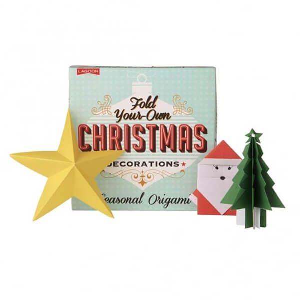 Tabletops Christmas Origami