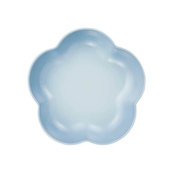 Le Creuset Coastal Blue Stoneware Flower Dish