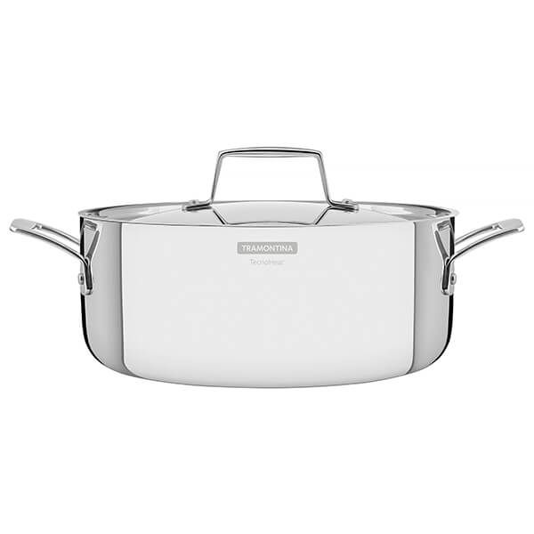 Tramontina Grano 24cm 3-ply Stainless Steel Casserole
