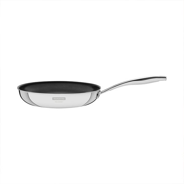 Tramontina Grano 20cm 3-ply Stainless Steel Non-Stick Frying Pan