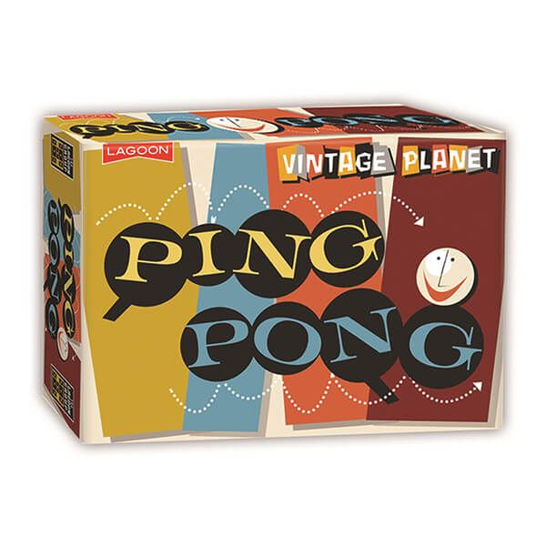 Vintage Planet Ping Pong