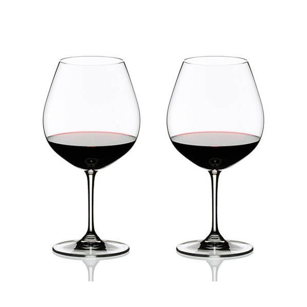 Riedel Vinum Pinot Noir (Burgundy Red) Wine Glass Twin Pack