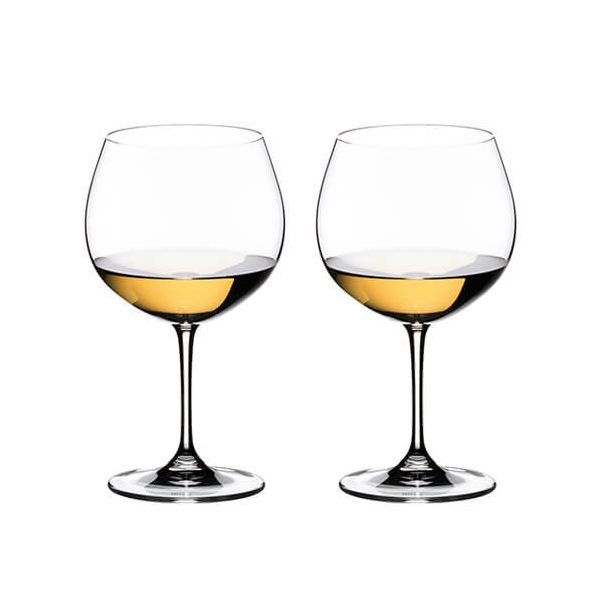 Riedel Vinum Oaked Chardonnay Wine Glass Twin Pack