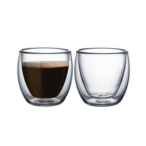 Tramontina Double Walled Espresso Glasses Pack Of 2