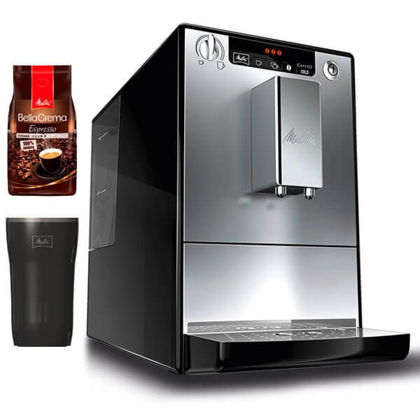 Melitta SOLO E950-103 Silver & Black Bean To Cup Coffee Machine With FREE Gifts