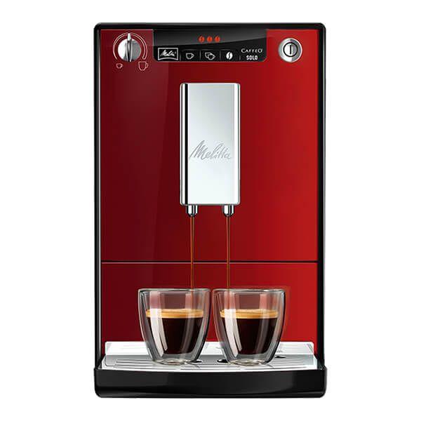 Melitta Caffeo SOLO Chilli Red Bean To Cup Coffee Machine E950-204