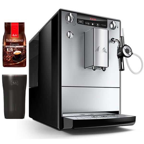 Melitta SOLO Perfect Milk E957-103 Silver Bean To Cup Coffee Machine With FREE Gifts