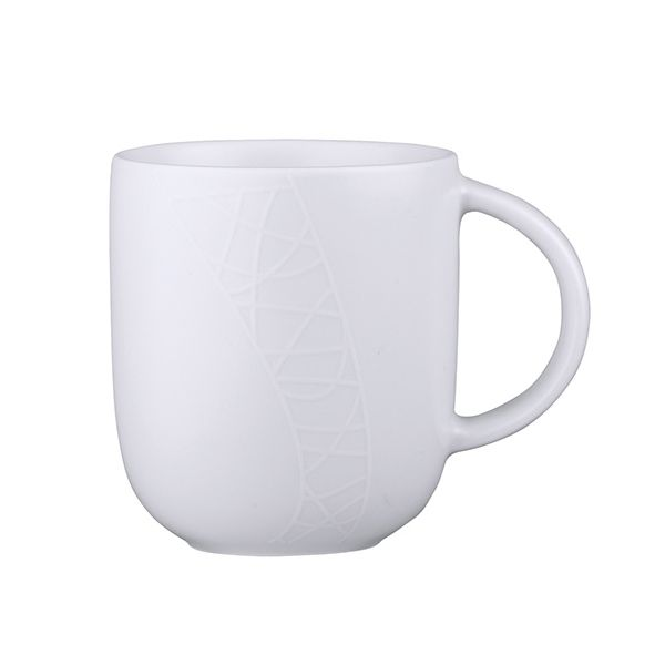 Jamie Oliver White On White (Cosy) Mug