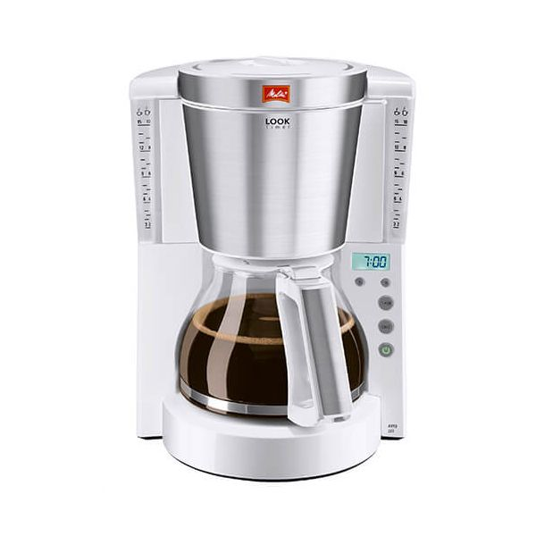 Melitta Look Timer White Filter Coffee Machine 1011-07