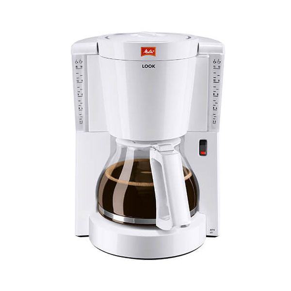 Melitta Look White Filter Coffee Machine 1011-01