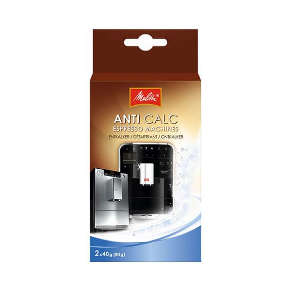 Melitta Anti Calc Espresso Machine Descaling Powder