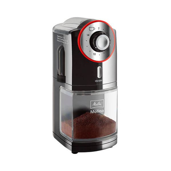 Melitta Molino Electrical Coffee Grinder Black