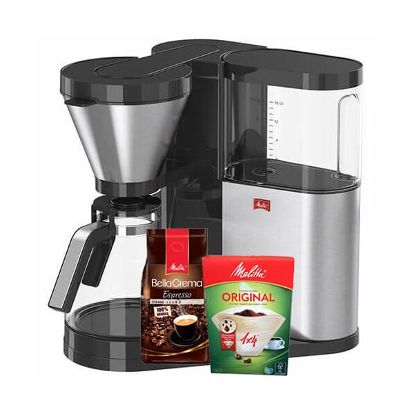 Melitta Aromaelegance Deluxe Filter Coffee Machine 1012-03 With FREE Gifts