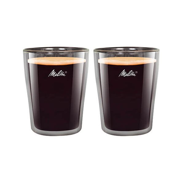 Melitta 200ml Double Wall Coffee Glass Set Of 2