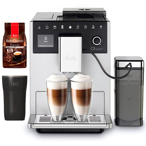 Melitta CI Touch F630-101 Silver Bean To Cup Coffee Machine