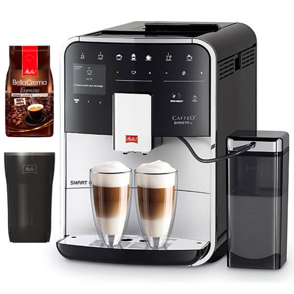 Melitta Barista TS Smart F850-101 Silver Bean To Cup Coffee Machine With FREE Gifts