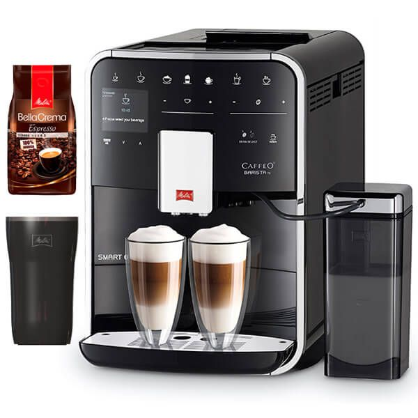 Melitta Barista TS Smart F850-102 Black Bean To Cup Coffee Machine With FREE Gifts