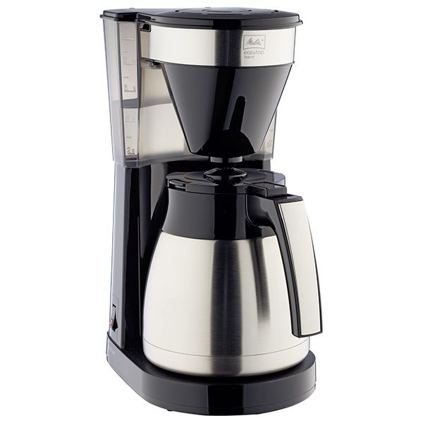Melitta Easy Top Therm II 1023-10 Steel & Black Filter Coffee Machine