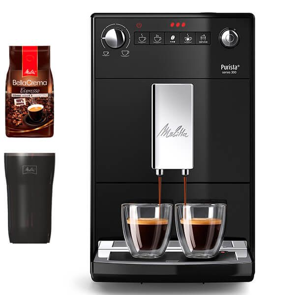 Melitta Purista F230-102 Black Bean To Cup Coffee Machine With FREE Gifts