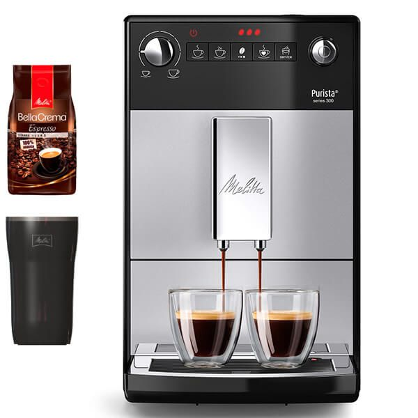 Melitta Purista F230-101 Silver Bean To Cup Coffee Machine