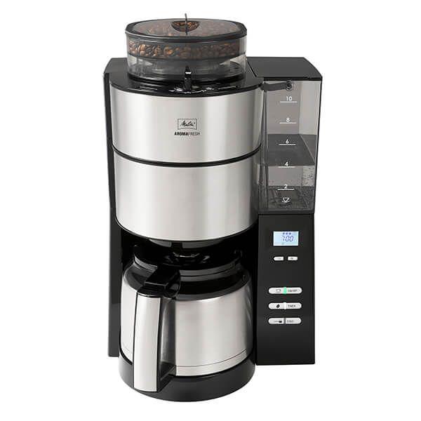 Melitta Aromafresh Grind & Brew Thermal Filter Coffee Machine 1021-12